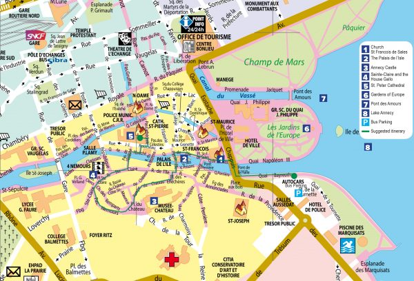 Annecy_map_swisstours_2019 - 2