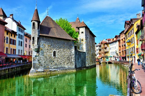 Palais de I'Isle in Annecy, France