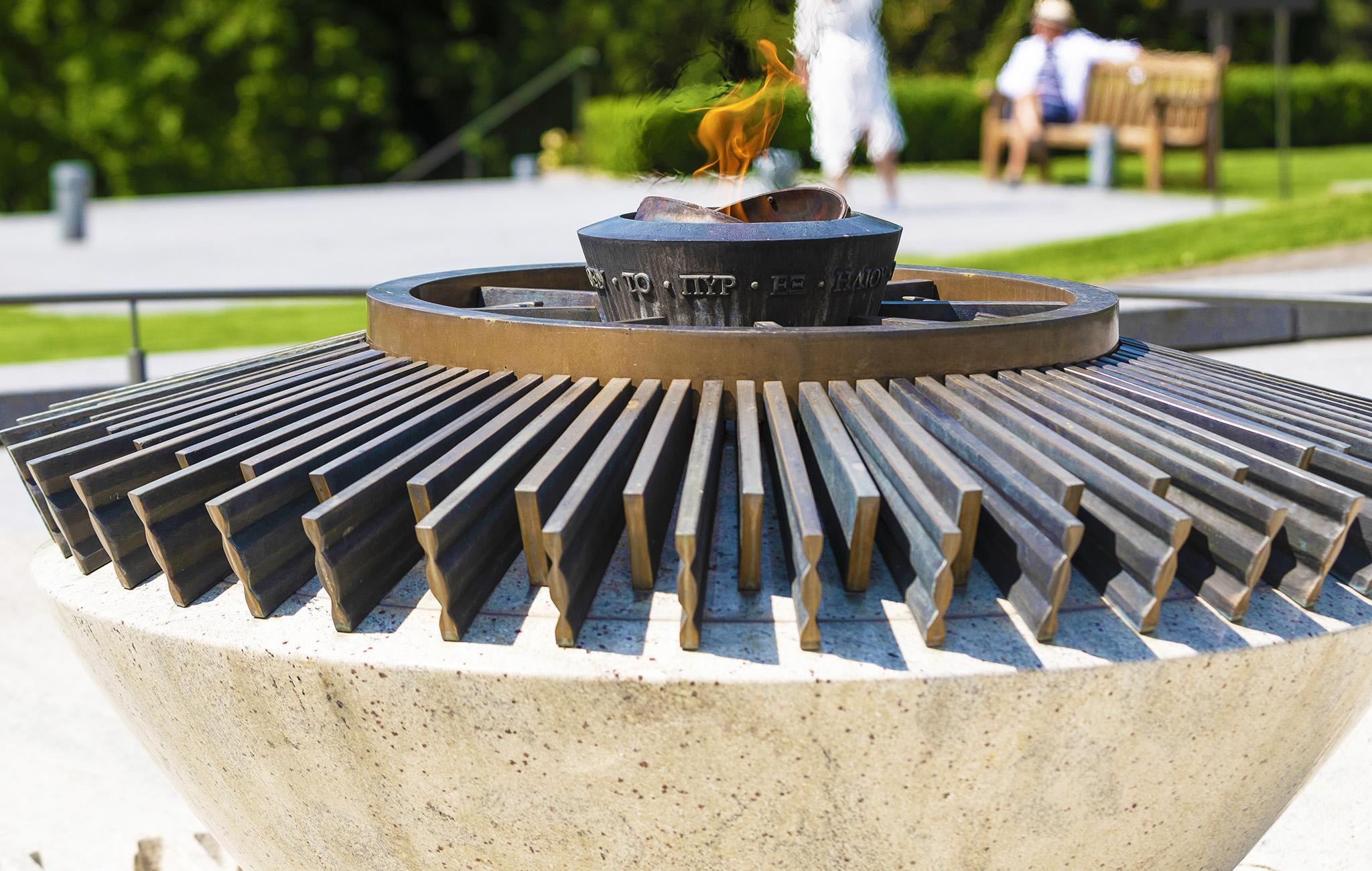 Mission photos au Musée Olympique: jardins, TOM café, le SHOP