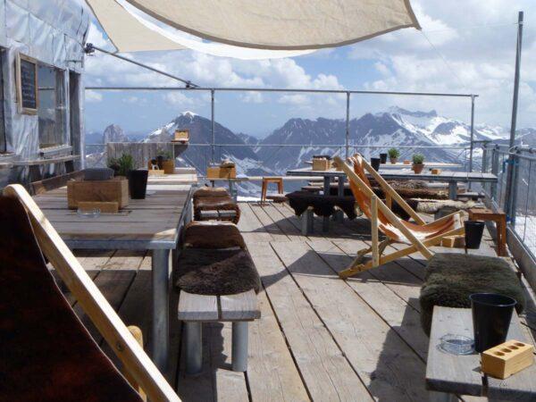 (5) Refuge de l'Espace (c) Glacier 3000